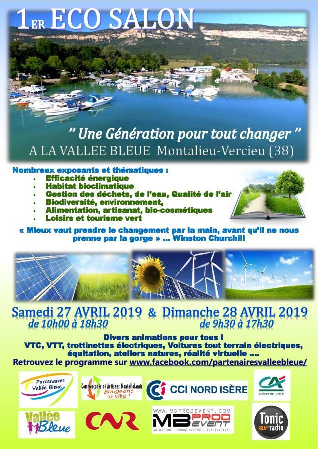 Affiche ECO SALON 27-28 avril 2019