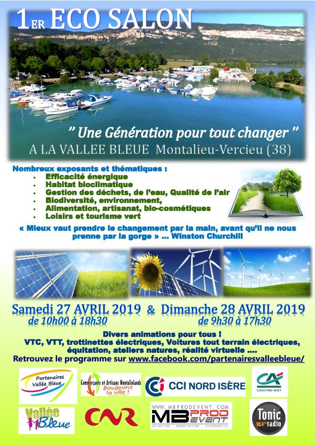 Affiche ECO SALON 27-28 avril 2019